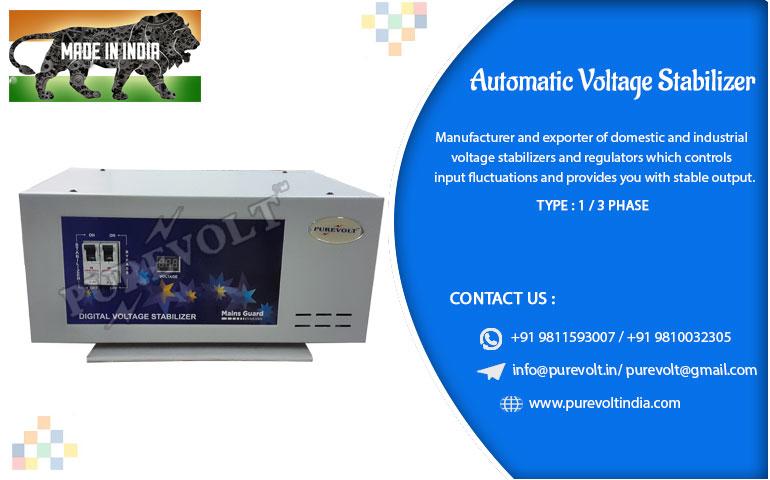 Automatic Voltage Regulator Manufacturer Automatic