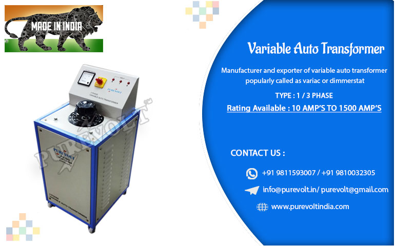 3 Phase Variable Auto Transformer Manufacturer 3 Phase